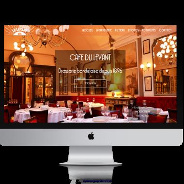 cafe du levant bordeaux site internet restaurant