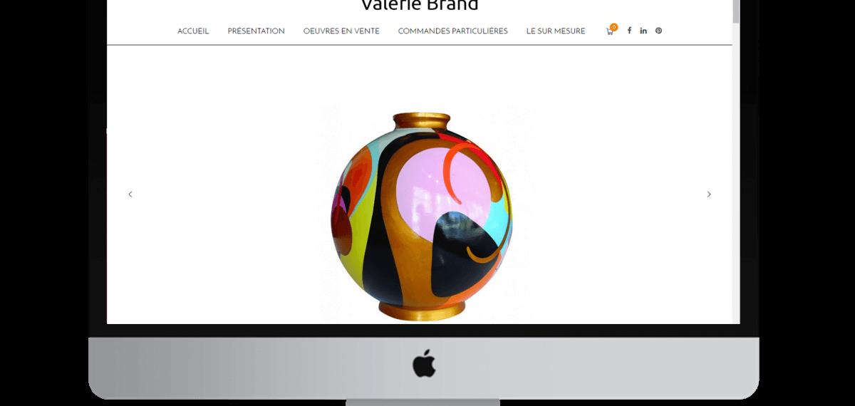 valerie brand site internet artiste peintre